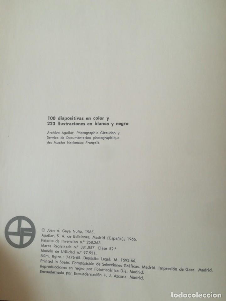Libros antiguos: MUSEO DEL LOUVRE. JUAN ANTONIO GAYÁ NUÑO. Librofilm Aguilar - Foto 3 - 165842318