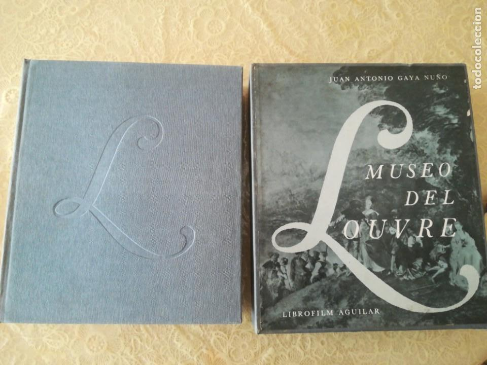 Libros antiguos: MUSEO DEL LOUVRE. JUAN ANTONIO GAYÁ NUÑO. Librofilm Aguilar - Foto 8 - 165842318