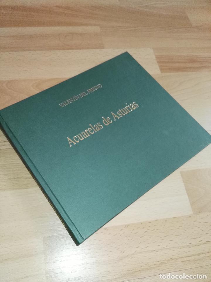 Libros antiguos: Libro de acuarelas de Valentín del Fresno firmado y dedicado - Foto 2 - 166591246