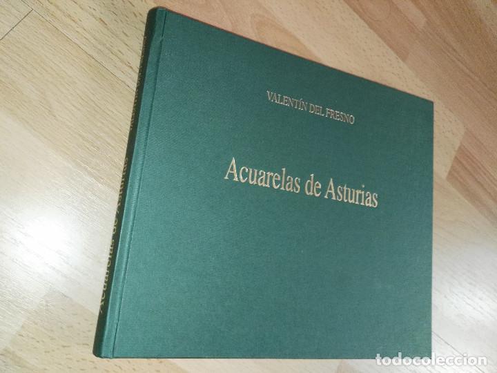 Libros antiguos: Libro de acuarelas de Valentín del Fresno firmado y dedicado - Foto 3 - 166591246