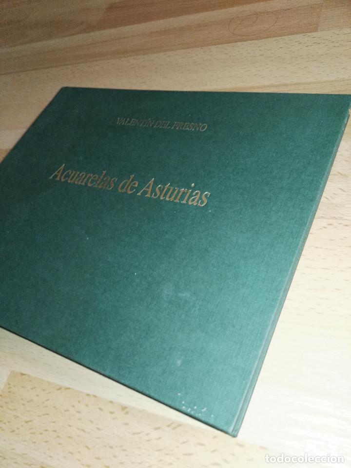 Libros antiguos: Libro de acuarelas de Valentín del Fresno firmado y dedicado - Foto 4 - 166591246