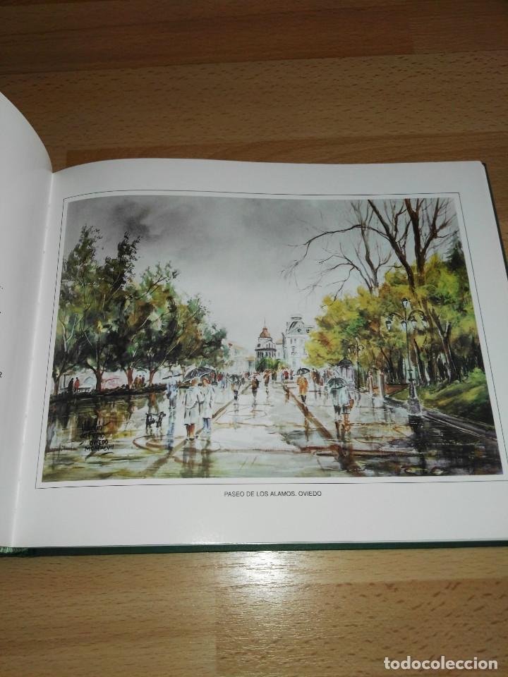 Libros antiguos: Libro de acuarelas de Valentín del Fresno firmado y dedicado - Foto 5 - 166591246