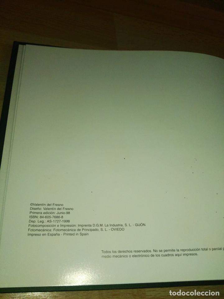 Libros antiguos: Libro de acuarelas de Valentín del Fresno firmado y dedicado - Foto 11 - 166591246
