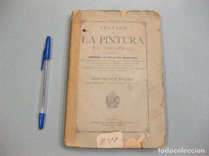 TRATADO DE LA PINTURA. VICENTE POLERÓ. MADRID. 1886. (Libros Antiguos, Raros y Curiosos - Bellas artes, ocio y coleccion - Pintura)