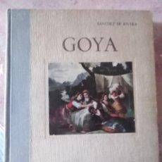 Libros antiguos: GOYA LA LEYENDA LA ENFERMEDAD Y LAS PINTURAS RELIGIOSAS. 1944. Lote 166750866