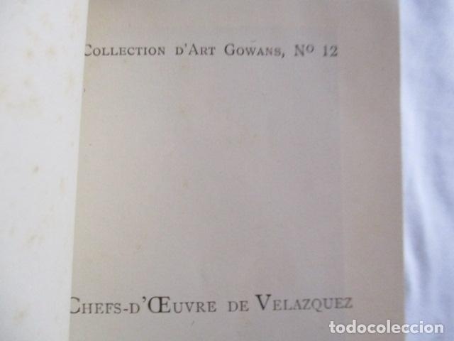 Libros antiguos: VELÁZQUEZ. Les Chefs - d' Oeuvre de Velázquez . 1925 - Foto 10 - 166956396