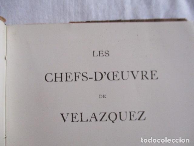 Libros antiguos: VELÁZQUEZ. Les Chefs - d' Oeuvre de Velázquez . 1925 - Foto 14 - 166956396