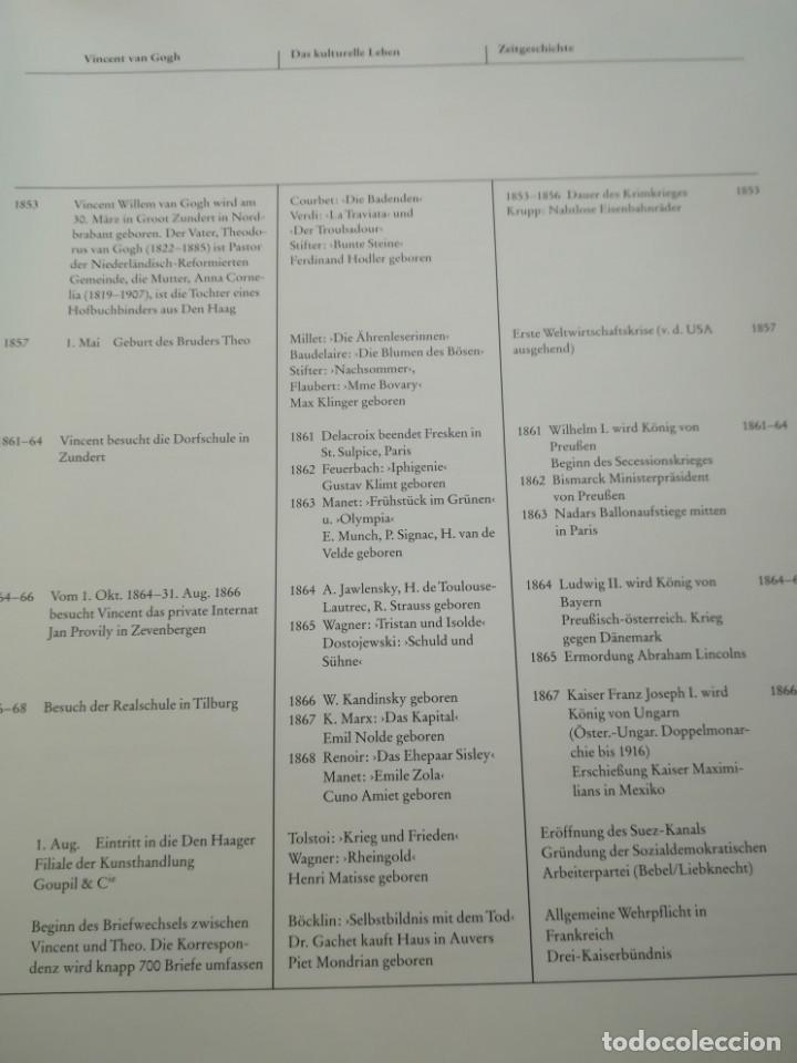 Libros antiguos: Vincent Van Gogh und die Moderne 1890-1914, en alemán. 1991, libro muy ilustrado - Foto 9 - 167698540