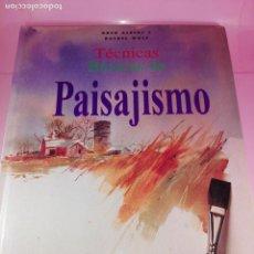 Libros antiguos: LIBRO-TÉCNICAS BÁSICAS DE PAISAJISMO EN TODOS LOS MEDIOS-IDEA BOOKS-1996-VER FOTOS. Lote 168230900