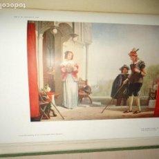 Libros antiguos: SHAKESPEARE EN LA PINTURA SHAKESPEARE IN PICTORIAL ART 1916. 111 LÁMINAS. Lote 168387096