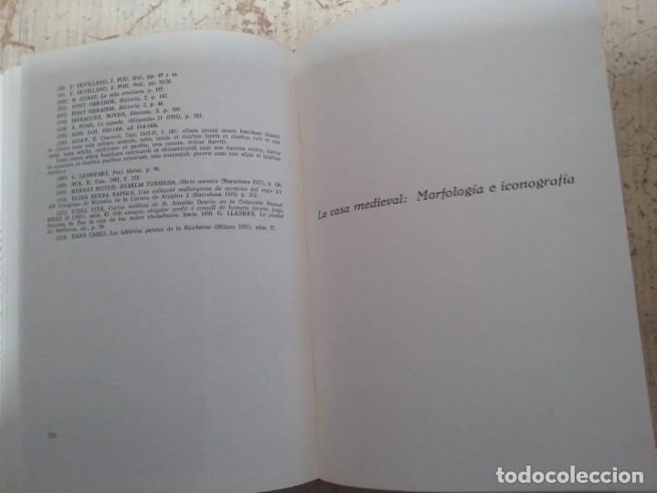 Libros antiguos: LA PINTURA MEDIEVAL MALLORQUINA: SU ENTORNO CULTURAL Y SU ICONOGRAFIA - GABRIEL LLOMPART (TOMO I) - Foto 17 - 169747612