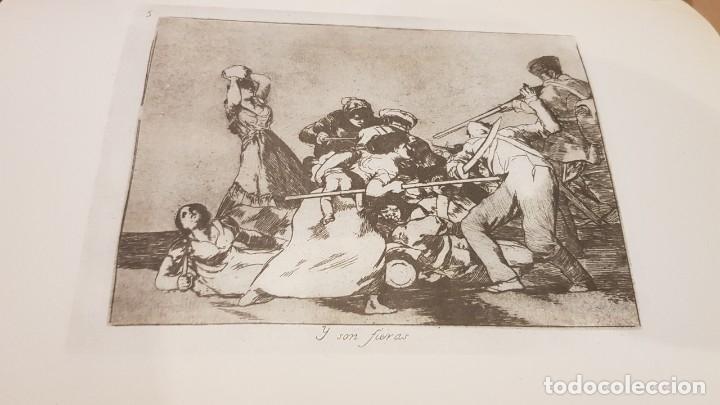 Libros antiguos: GOYA / LOS DESASTRES DE LA GUERRA / COLECCIÓN 82 AGUAFUERTES / ED - TARTESSOS / OCASIÓN ! - Foto 6 - 169757984