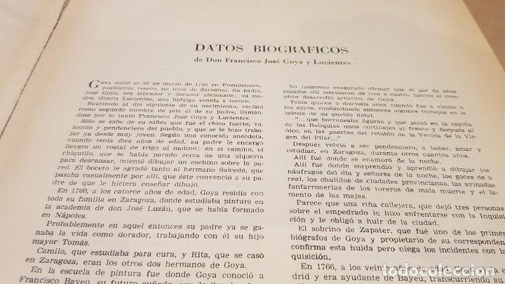 Libros antiguos: GOYA / LOS DESASTRES DE LA GUERRA / COLECCIÓN 82 AGUAFUERTES / ED - TARTESSOS / OCASIÓN ! - Foto 2 - 169757984