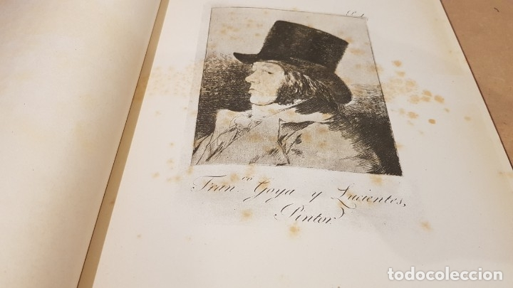 Libros antiguos: GOYA / LOS CAPRICHOS / COLECCIÓN 21 AGUAFUERTES / ED- TARTESSOS - Foto 2 - 169758568