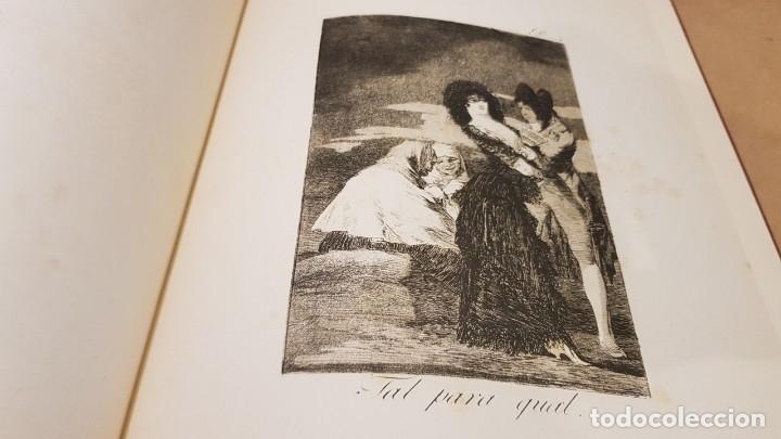 Libros antiguos: GOYA / LOS CAPRICHOS / COLECCIÓN 21 AGUAFUERTES / ED- TARTESSOS - Foto 4 - 169758568