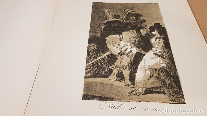 Libros antiguos: GOYA / LOS CAPRICHOS / COLECCIÓN 21 AGUAFUERTES / ED- TARTESSOS - Foto 5 - 169758568