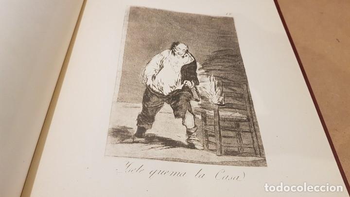 Libros antiguos: GOYA / LOS CAPRICHOS / COLECCIÓN 21 AGUAFUERTES / ED- TARTESSOS - Foto 6 - 169758568