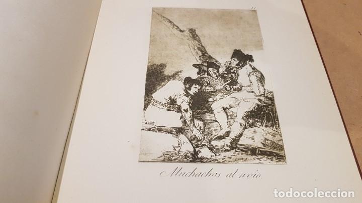 Libros antiguos: GOYA / LOS CAPRICHOS / COLECCIÓN 21 AGUAFUERTES / ED- TARTESSOS - Foto 8 - 169758568