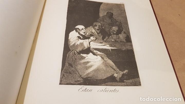 Libros antiguos: GOYA / LOS CAPRICHOS / COLECCIÓN 21 AGUAFUERTES / ED- TARTESSOS - Foto 7 - 169758568
