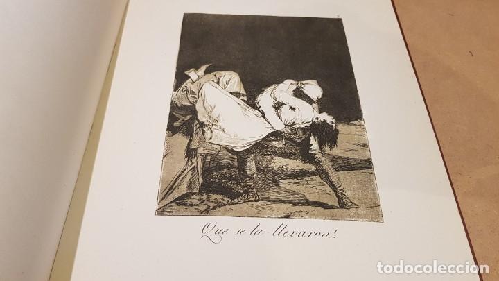 Libros antiguos: GOYA / LOS CAPRICHOS / COLECCIÓN 21 AGUAFUERTES / ED- TARTESSOS - Foto 9 - 169758568