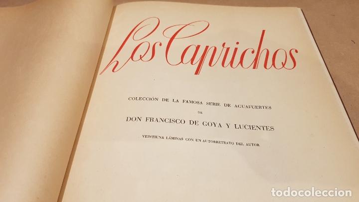 GOYA / LOS CAPRICHOS / COLECCIÓN 21 AGUAFUERTES / ED- TARTESSOS (Libros Antiguos, Raros y Curiosos - Bellas artes, ocio y coleccion - Pintura)