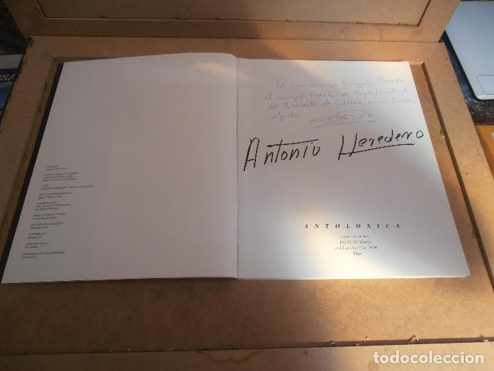 Libros antiguos: Antonio Heredero. Antolóxica. Catálogo de Exposición. + CATALOGO ACUARELAS - Foto 2 - 170130412