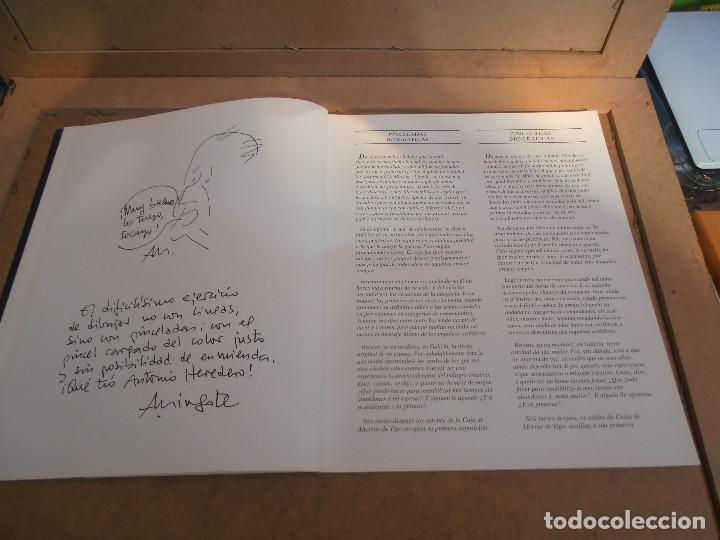 Libros antiguos: Antonio Heredero. Antolóxica. Catálogo de Exposición. + CATALOGO ACUARELAS - Foto 4 - 170130412