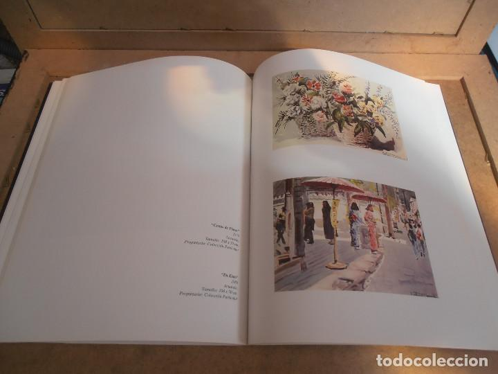 Libros antiguos: Antonio Heredero. Antolóxica. Catálogo de Exposición. + CATALOGO ACUARELAS - Foto 7 - 170130412