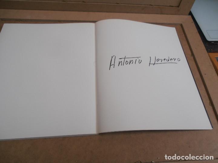 Libros antiguos: Antonio Heredero. Antolóxica. Catálogo de Exposición. + CATALOGO ACUARELAS - Foto 8 - 170130412