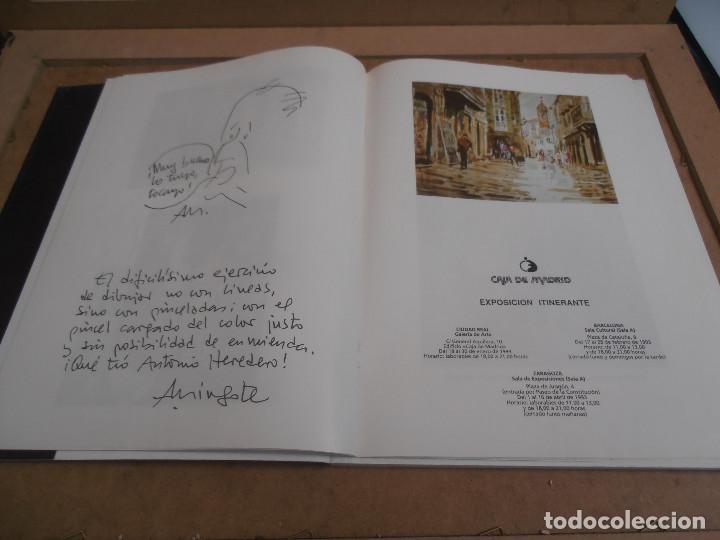 Libros antiguos: Antonio Heredero. Antolóxica. Catálogo de Exposición. + CATALOGO ACUARELAS - Foto 11 - 170130412