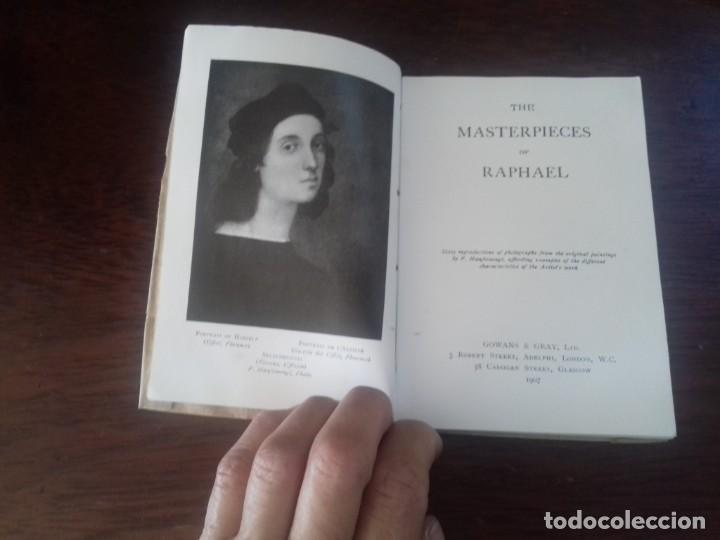 Libros antiguos: GOWANSS ART BOOKS.THE MASTERPIECES OF RAPHAEL. LONDON 1907 - Foto 4 - 171007230