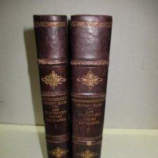 Libros antiguos: LOS CUATROCENTISTAS CATALANES. HISTORIA DE LA PINTURA EN CATALUÑA EN EL SIGLO XV.SANPERE I MIQUEL, S. Lote 171621647