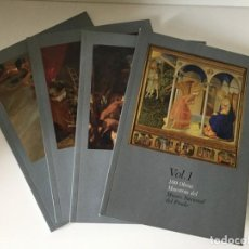 Libros antiguos: 100 OBRAS MAESTRAS DEL MUSEO DEL PRADO - 4 VOLUMENES. Lote 171766760