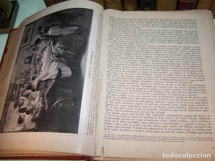 Libros antiguos: La vida y la obra de Joaquín Sorolla. Estudio biográfico y crítico. Bernardino de Pantorba. 1953. - Foto 3 - 172166559
