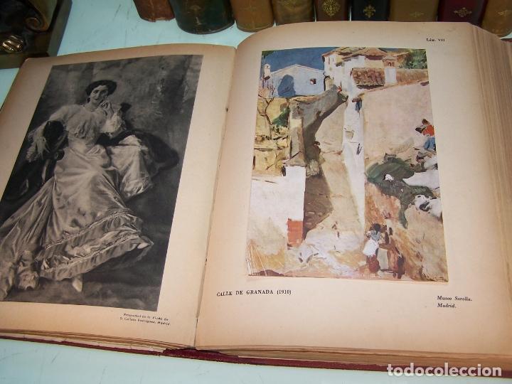 Libros antiguos: La vida y la obra de Joaquín Sorolla. Estudio biográfico y crítico. Bernardino de Pantorba. 1953. - Foto 6 - 172166559