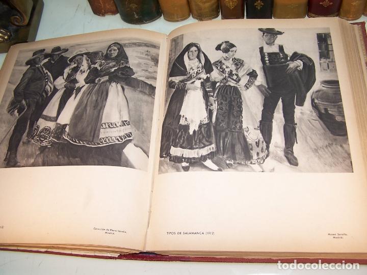 Libros antiguos: La vida y la obra de Joaquín Sorolla. Estudio biográfico y crítico. Bernardino de Pantorba. 1953. - Foto 7 - 172166559