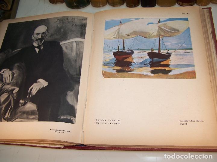 Libros antiguos: La vida y la obra de Joaquín Sorolla. Estudio biográfico y crítico. Bernardino de Pantorba. 1953. - Foto 8 - 172166559