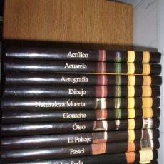 Libros antiguos: CURSO CREATIVO DE DIBUJO Y PINTURA - ENCICLOPEDIA 11 TOMOS - CLUB INTERNACIONAL DEL LIBRO.. Lote 172211804