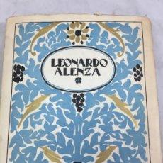 Libros antiguos: LEONARDO ALENZA. EDITORIAL CALLEJA. 1ª EDICIÓN, 1920. ILUSTRADO CON 42 LÁMINAS . Lote 172297588