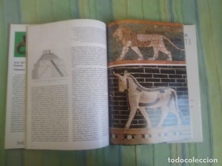 Libros antiguos: HISTORIA DEL ARTE SALVAT. Volumen 3. Arte del Próximo Oriente. - Foto 2 - 172882753