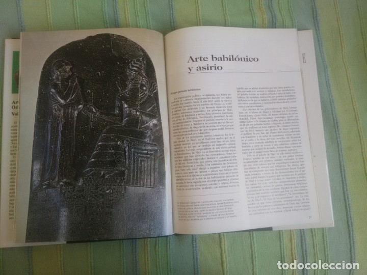 Libros antiguos: HISTORIA DEL ARTE SALVAT. Volumen 3. Arte del Próximo Oriente. - Foto 3 - 172882753