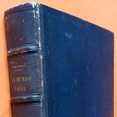 Libros antiguos: EL MUNDO SOCIAL: OBRA ILUSTRADA CON MAGNÍFICAS LÁMINAS - JUAN CORTADA -LIBRERÍA DE JOSÉ RIBET-1864. Lote 173802477