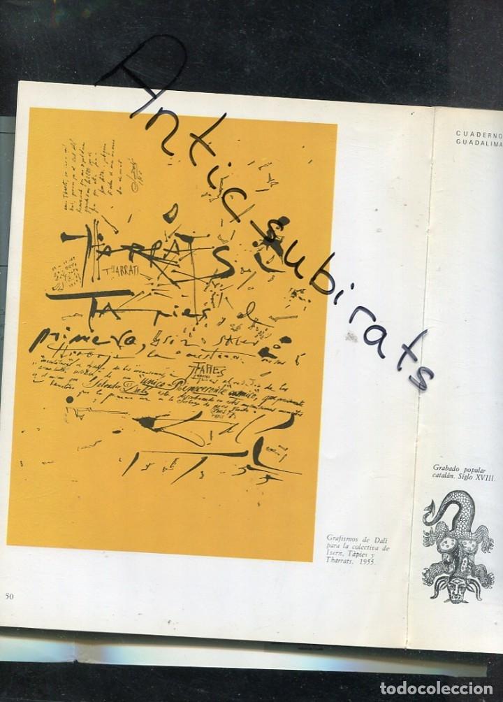 LIBRO AÑ 1978 DALI JAZZ EN BARCELONA 1952 CARTELES ANTONIO TAPIES JOAN MIRO CUIXART JOAN BROSSA PONÇ (Libros Antiguos, Raros y Curiosos - Bellas artes, ocio y coleccion - Pintura)
