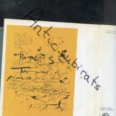 Libros antiguos: LIBRO AÑ 1978 DALI JAZZ EN BARCELONA 1952 CARTELES ANTONIO TAPIES JOAN MIRO CUIXART JOAN BROSSA PONÇ. Lote 173813827