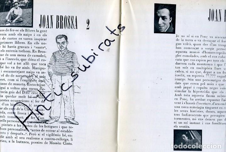Libros antiguos: LIBRO AÑ 1978 DALI JAZZ EN BARCELONA 1952 CARTELES ANTONIO TAPIES JOAN MIRO CUIXART JOAN BROSSA PONÇ - Foto 3 - 173813827