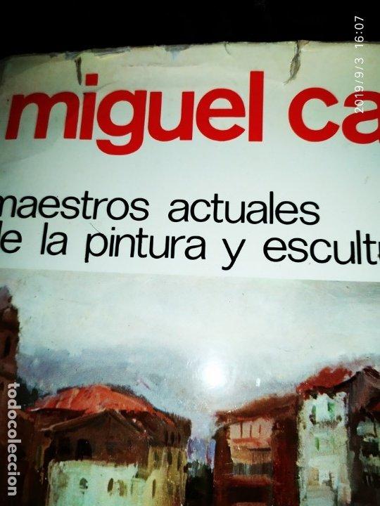 Libros antiguos: 1974 MIGUEL CARBONELL MAESTROS ACTUALES DE LA PINTURA ESCULTURA CATALANA 40 DEDICADO A PADRÓ UNICO - Foto 5 - 175512933