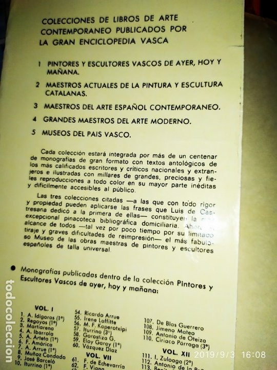 Libros antiguos: 1974 MIGUEL CARBONELL MAESTROS ACTUALES DE LA PINTURA ESCULTURA CATALANA 40 DEDICADO A PADRÓ UNICO - Foto 10 - 175512933