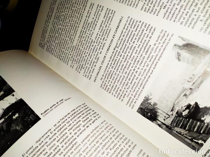 Libros antiguos: 1974 MIGUEL CARBONELL MAESTROS ACTUALES DE LA PINTURA ESCULTURA CATALANA 40 DEDICADO A PADRÓ UNICO - Foto 11 - 175512933