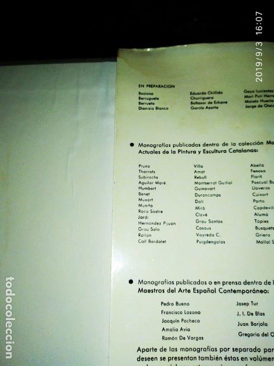 Libros antiguos: 1974 MIGUEL CARBONELL MAESTROS ACTUALES DE LA PINTURA ESCULTURA CATALANA 40 DEDICADO A PADRÓ UNICO - Foto 17 - 175512933