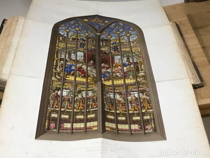 Libros antiguos: HISTORIA DE LA PINTURA SOBRE CRISTAL. ESPECIALMENTE EN BÉLGICA. EDMOND LÉVY. BRUXELLES. - Foto 9 - 176142124